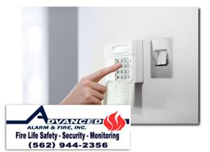 Burglar Alarm Systems Orange County Los Angeles CA